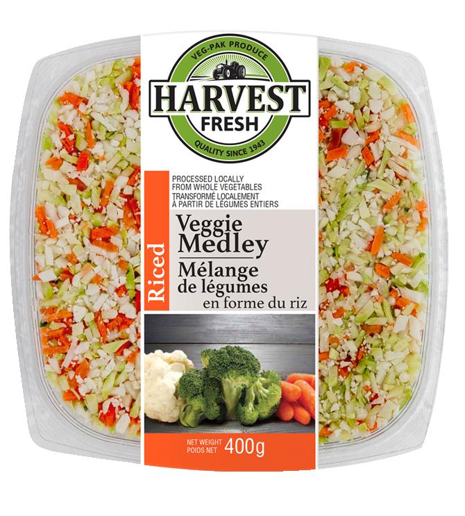 Riced Vegetables